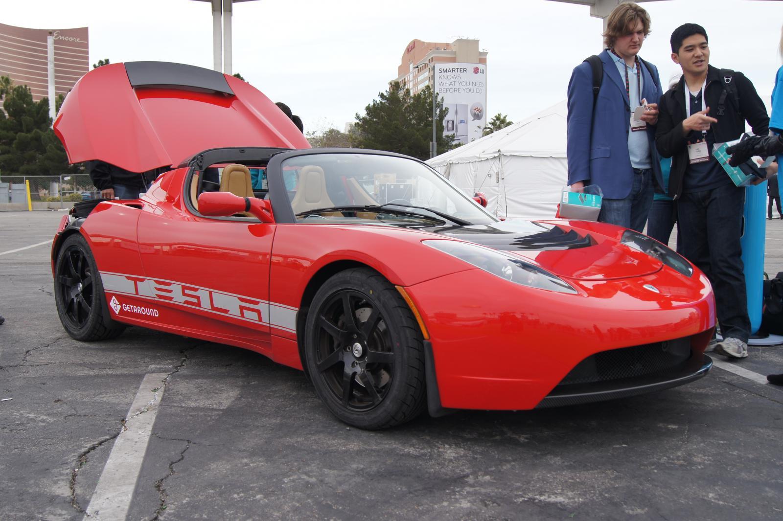 GetAround's Tesla Roadster