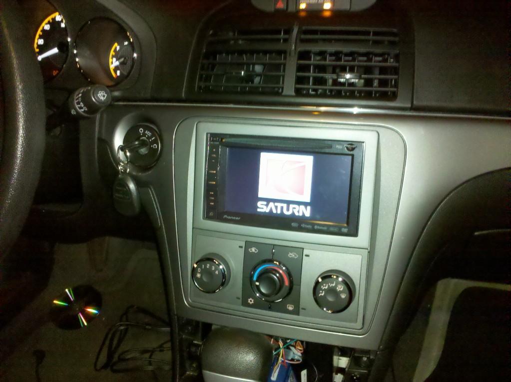 AVIC-X920BT installed in my 2008 Saturn Aura