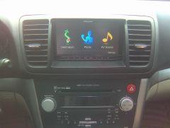 My Subaru Legacy Avic