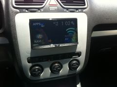 Installation Pics AVIC-800NEX into 2007 VW EOS