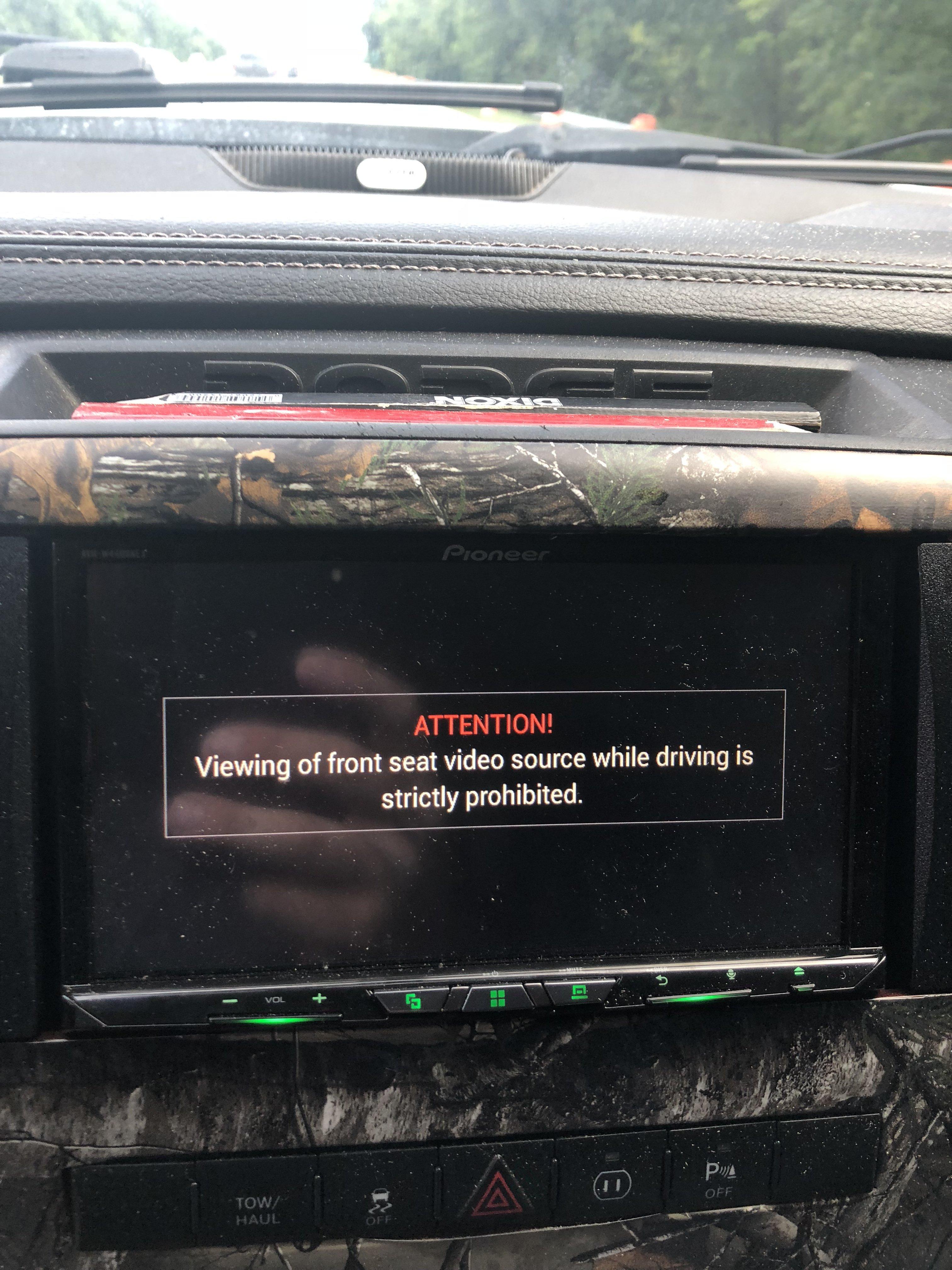 w4400nex how to bypass e brake - NEX Series - AVIC411 com