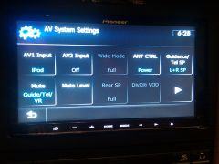 AV System Settings